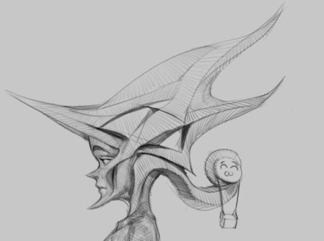 abstract hat by p00se2