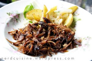 Pulled Pork with Potatoes by oskila
