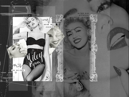 miley cyrus project by AttwoodArt