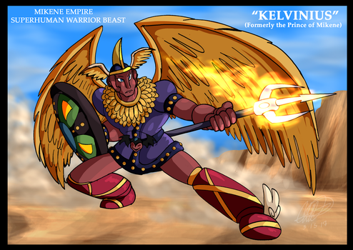 Mazinger series Mikene Empire - Kelvinius by GearGades