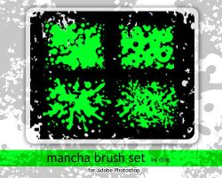 Mancha Brush Set by djog