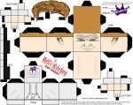 Cubeecraft of Chef Gordon Ramsay Hell's Kitchen by SKGaleana