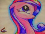 pouty face Cadence by gluedots