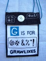 G is for Grawlixes by WhiteAntCrawls