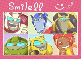 Autobots Smiles by TUDURI