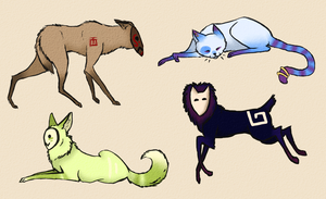 Creatures Adopts 1 AUCTION (open) by Vallume