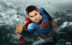 Supergirl CW / Tyler Hoechlin as Superman by GOXIII