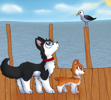 Sittin' On the Dock of the Bay by snowgraywhite