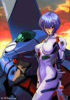 Rei ayanami by dramegar