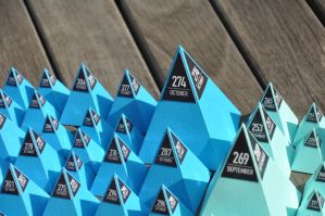 Project 365 pyramids v2 by Lemongraphic