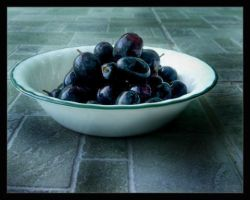 Black Grapes by jteh