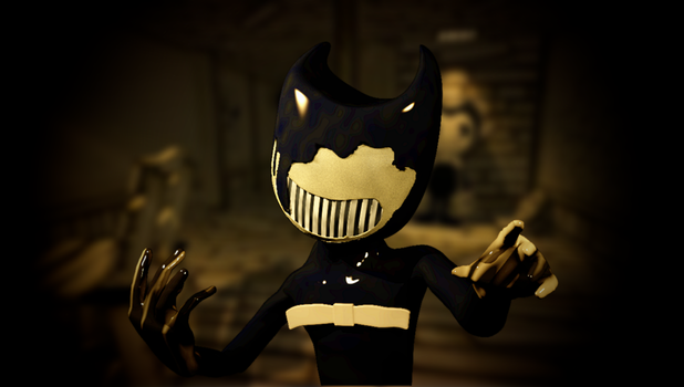 I call apon you Bendy by Photo-NegativeMickey