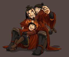 Fire Nation Dog Pile by Erikonil