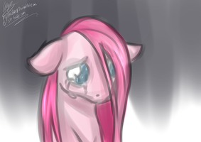 Sad Pinkie by MylittleSheepy