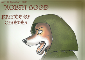 THE HOODED by Quomlon