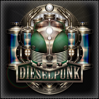 Dieselpunk Label IV the green One V2 by IllustratorG