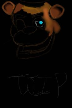 W.I.P of Freddy by Cheesecake2002