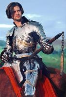 William in Gothic armour by Ageofarmour