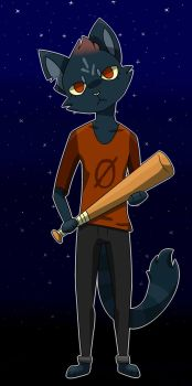 Night in the Woods by SummerDrawing