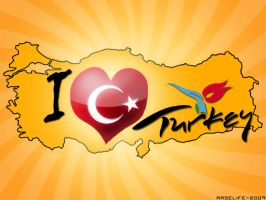 i love turkey by arselife