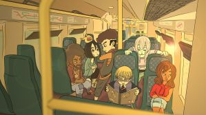 Mandragora - Train Ride by EarthBenderCharlie