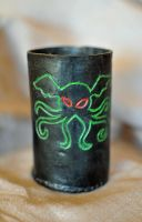 Cthulhu Dice cup by Maroventolo