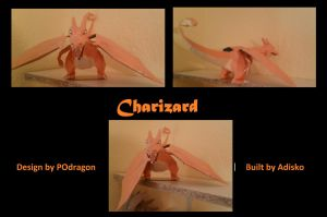 Paper Pokemon Charizard by Adisko