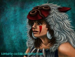 .:Princess Mononoke:. by kimberly-castello