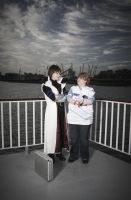 Kaiba and Joey by redwolf18blue