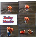 Weekly Sculpture: Baby Mario by ClayPita