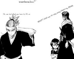 RENJI....... LEAVE RUKIA ALONE by EmpireKing