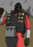 TF2 Demoman by Vincentious