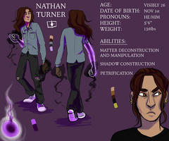Nathan Ref: AfterlifeOCT by arryya