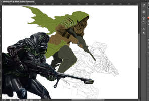 Destiny - Work in Progress 2 by PenclGuy