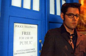 Tenth Doctor and Tardis on Gallifrey by IrishTimeLord