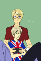 Games and books :APH: USUK by fliff