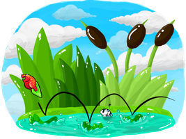 CotW #5: Lilypad Jumping by AuroraL1GHT