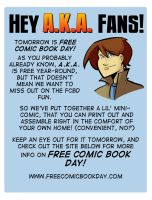 Free Comic Book Day by ComickerGirl