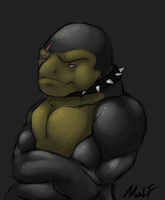 Battle Toad by AMWULF