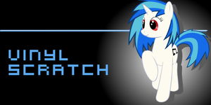 vinyl scratch wallpaper by sgtfishface