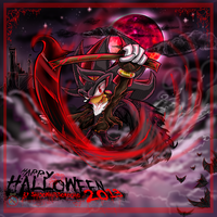 Happy Halloween 2013 Shadow the hedgehog by shadowhatesomochao