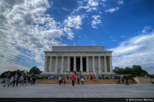 Lincoln Memorial HDR by cjbroom
