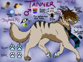 Tanner Official 2014 Ref. by gay-doq-nerd