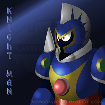 Knight Man by MasterSageComics