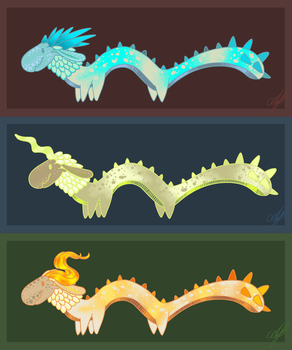 All Dragons ~ Breath of the Wild by Avajes