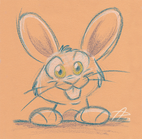 Pubdoodles - Retardedly Cute Bunneh by fnook