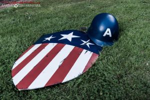 ALCON Captain America Shield and Helmet by TPJerematic