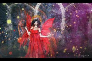 The fairy queen by alexamorath