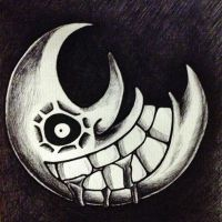 Crazy Moon Sketch by AdanMGarcia