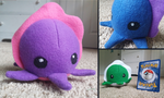 Cuttlefish Plush by CalicoNorth